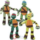 TMNT Ninja Turtles 10in Plush Doll 4pc  Set