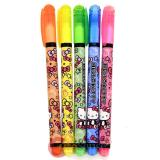 Sanrio Hello Kitty 5 Color Highlight Pen Set