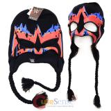 WWE Ultimate Warrior Face paint Laplander Beanie Hat with Eye Holes