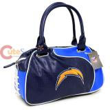 NFL San Diego Chargers  Bowler Bag Purse , Hand Bag