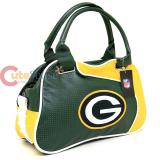 NFL Green Bay Packers  Bowler Bag Purse , Hand Bag