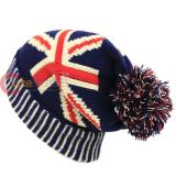 UK Flag Beanie Hat England Union Jack Kintted Cap