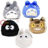 "My Neighbor Totoro Characters Plush Key Chain  3"" Mini Bean Plush Doll (5 Kinds)"