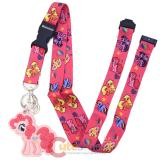 My Little Pony All Over Prints Lanyard with Pinkie Pie PVC Dangle