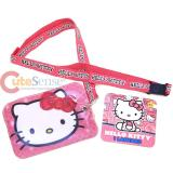 Sanrio Hello Kitty Lanyard Keychain with ID Holder