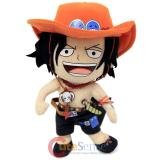 One Piece Ace Plush Doll Soft Stuffed Toy by GE