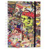 Marvel Retro Spiral Bound College Ruled Notebook