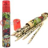 Marvel  Heroes Retro Pencil Tube with 12pc Color Pencil
