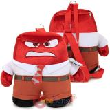 Disney Inside Out Anger Plush Doll Backpack Pillow Cushion