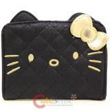 Sanrio Hello Kitty Bi-Fold Black Face Wallet by Loungefly