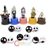 Nightmare Before Christmas Figurine Stamp 5pc Set