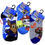 Paw Patrol 3 Pair Anklets  Socks Set : Small