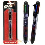Star Wars Darth Vader Retractable Ballpoint Pens 6 Colors