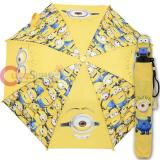 Despicable Me Minions Kids Retractable Umbrella with Figure Handle