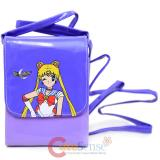 Sailormoon Body Cross Wallet Fanny Pack  Shoulder Bag - Puprle