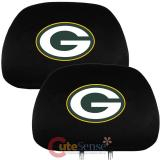 NFL Green Bay Packers  Car Head Rest Cover -2PC