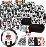 Disney Mickey Mouse Expressions Car Seat Covers Accessories 11pc Set