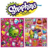 Shopkins Stickers Set of 2