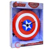 Marvel Captain America's Shield Wobble Clock Watch Wall Clock
