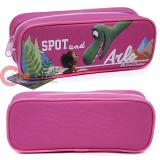 The Good Dinosaur Zippered  Pencil Case Pouch Bag - Pink
