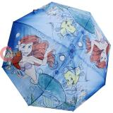 Disney Princess Little Mermaid Ariel Retractable Umbrella