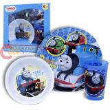 Thomas The Tank Engine Kids Dining  Dinnerware Set 3pc Plate Bowl Tumbler Set