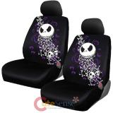 Nightmare Before Christmas Low Back 2 Front Car Seat Cover -Bones