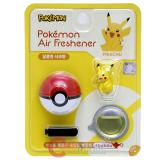 Pokemon Pikachu Figure Vent Clip Air Freshener with Pokeball