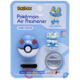 Pokemon Froakie Figure Vent Clip Air Freshener with Pokeball