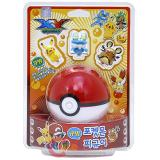 Pokemon XY 3 Figure with Pokeball Coink Bank Pikachu Froakie Dedenne