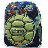 TMNT Ninja Turtles Hard Shell School Backpack 12in  Book Bag