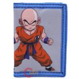 Dragon Ball Z krillin Trifold Canvas Wallet