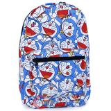 Doraemon All Over Collage Large School Backpack