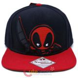 Marvel Kawaii Deadpool Snapback Hat Trucker Flat Bill Cap
