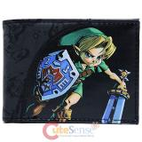 The Legend of Zelda Majoras Mask Leather Bi-Fold Wallet