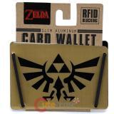 The Legend Of Zelda Metal Card Wallet Triforce Money Clip