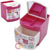 Sanrio Hello Kitty Jewelry Box Mini Organizer Storage : Pink Bear