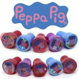 Peppa Pig Self Ink Stamps Set for 10pc