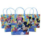 Disney Mickey Minnie Mouse  Party Gift Bag Set of 6 - Style Blog 8.5in