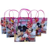 Disney Mickey Minnie Mouse  Party Gift Bag Set of 6 -Cup Cakes  8.5in
