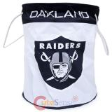 NFL Oakland Raiders Canvas Laundry Bag Basket Hamper