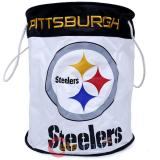 NFL Pittsburgh Steelers Canvas Laundry Bag Basket Hamper