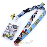DC Comic Wonder Woman Lanyard , ID Holder Comic Logo