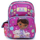 "Disney Jr. Doc Mcstuffins  Large school backpack 16"" Book Bag - Healing Hands"