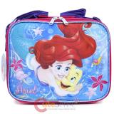 Disney Little Mermaid Ariel School Lunch Bag Insulated Snack Bag - Sea Shell