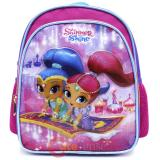 Shimmer and Shine School Backpack 10in Toddler Bag - Flying