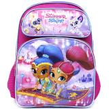 Shimmer and Shine School Backpack 16in Large Bag - Flying