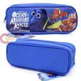 Disney Finding Dory  Zippered  Pencil Case Pouch Bag - Blue