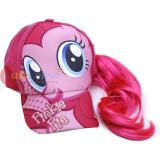 My Little Pony Pinkie Pie Girls Baseball Cap with Hair Wig
