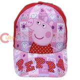 Peppa Pig Kids Baseball Hat Girls Cap - Pink Checker